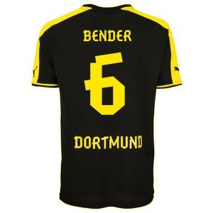 Camiseta de Borussia Dortmund 2013/2014 Segunda Bender