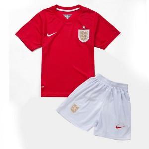 Camiseta de Inglaterra de la Seleccion WC2014 Segunda Nino