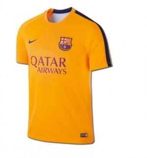 Camiseta del FC Barcelona Segunda Equipacion 2015/2016