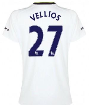 Camiseta Tottenham Hotspur Lamela Segunda 2013/2014