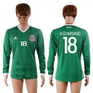 Camiseta de Mexico 2016-2017 18#