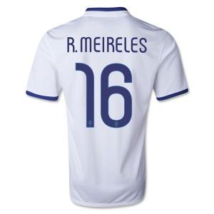Camiseta nueva Portugal de la Seleccion R.Meireles Segunda 2013/2014