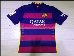 Camiseta Barcelona Primera Tailandia 15/16