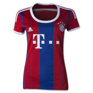 Camiseta nueva Bayern Munich Mujer Equipacion Segunda 2014/2015