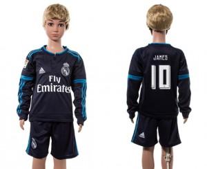 Camiseta nueva Real Madrid Niños 10# Manga Larga 2015/2016