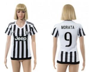 Mujer Camiseta del 9 Juventus 2015/2016