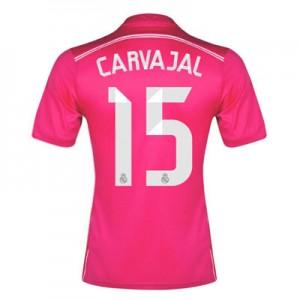 Camiseta del Daniel Carvajal Real Madrid Segunda Equipacion 2014/2015
