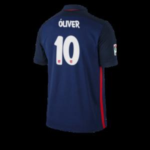 Camiseta de Atletico Madrid 2015/2016 Segunda OLIVER Equipacion