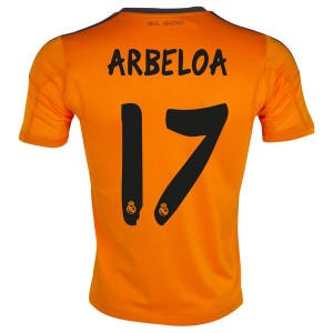 Camiseta Real Madrid Arbeloa Tercera Equipacion 2013/2014