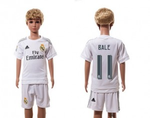 Niños Camiseta del 11 Real Madrid Home 2015/2016