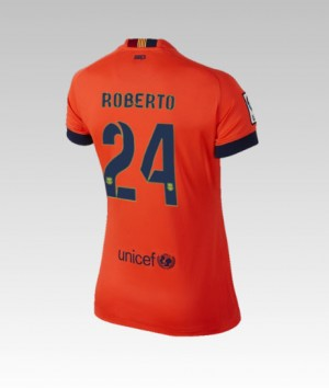 Camiseta Barcelona Bartra Segunda 2013/2014
