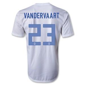 Camiseta nueva del Holanda 2013/2014 Vandervaart Segunda