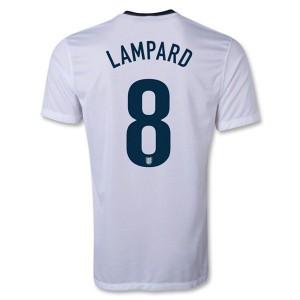 Camiseta nueva del Inglaterra de la Seleccion 2013/2014 Lampard Primera