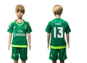 Niños Camiseta del 13 Real Madrid 2015/2016