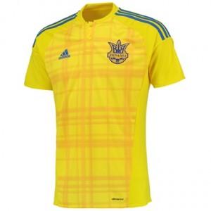 Camiseta nueva del Ucrania 2016 Equipacion Primera