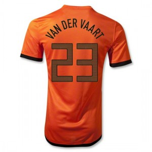 Camiseta de Holanda 2012/2014 Primera Van Der Vaart