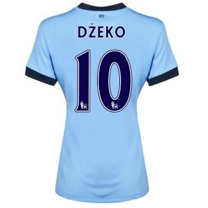 Camiseta nueva Manchester City Dzeko Tercera 2014/2015
