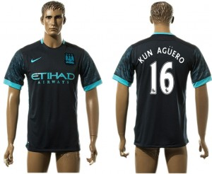 Camiseta de Manchester City Away 16# aaa version