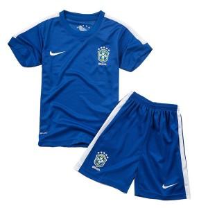 Camiseta de Brasil de la Seleccion WC2014 Segunda Nino