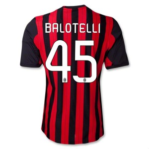 Camiseta del Balotelli AC Milan Primera Equipacion 2013/2014