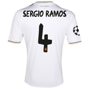 Camiseta nueva Real Madrid Sergio Ramos Primera 2013/2014