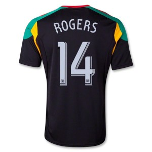 Camiseta nueva Los Angeles Galaxy Rogers Tercera 13/14