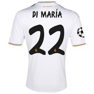 Camiseta de Real Madrid 2013/2014 Primera Di Maria Equipacion
