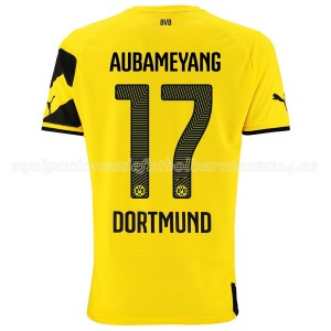 Camiseta nueva Borussia Dortmund Aubameyang Primera 14/15