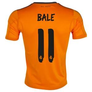 Camiseta nueva Real Madrid Bale Equipacion Tercera 2013/2014