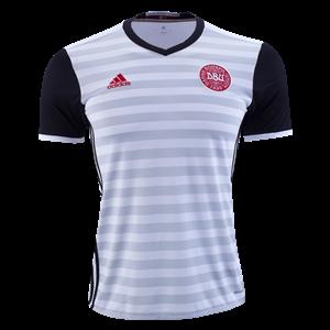 Camiseta del Dinamarca de la Seleccion Segunda 2015