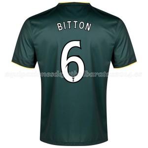 Camiseta nueva Celtic Bitton Equipacion Segunda 2014/2015