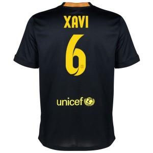 Camiseta de Barcelona 2013/2014 Tercera Xavi Equipacion