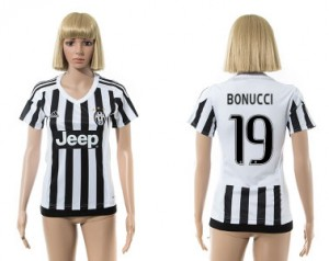 Camiseta nueva Juventus Mujer 19 2015/2016