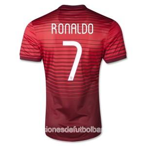 Camiseta del Ronaldo Portugal de la Seleccion Primera 2013/2014
