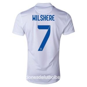 Camiseta del Wilshere Inglaterra de la Seleccion Primera WC2014