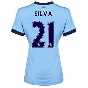 Camiseta Manchester City Fernandinho Tercera 2014/2015