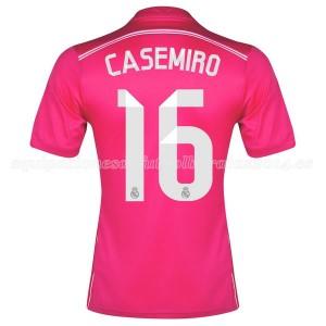 Camiseta Real Madrid Casemiro Segunda Equipacion 2014/2015