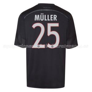 Camiseta del Muller Bayern Munich Tercera Equipacion 2014/2015