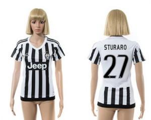 Camiseta Juventus 27 2015/2016 Mujer