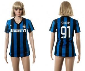 Camiseta Inter Milan 91 2015/2016 Mujer