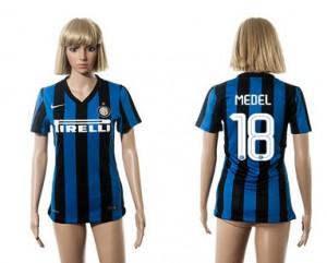 Camiseta nueva del Inter Milan 2015/2016 18 Mujer