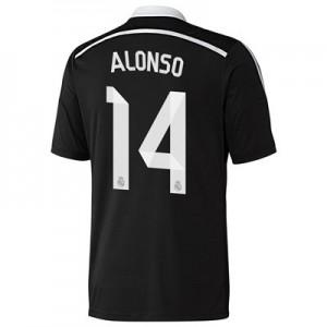 Camiseta Real Madrid Alonso Primera Equipacion 2014/2015