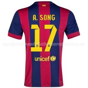 Camiseta del A.Song Barcelona Primera 2014/2015