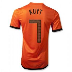 Camiseta nueva del Holanda de la Seleccion 2012/2014 Kuyt Primera