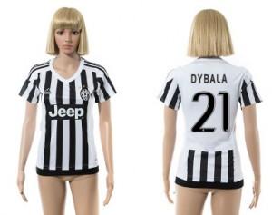 Camiseta nueva Juventus Mujer 21 2015/2016
