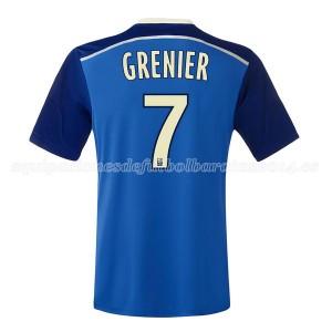 Camiseta nueva del Lyon 2014/2015 Grenier Segunda