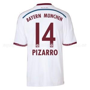 Camiseta nueva Bayern Munich Pizarro Equipacion Segunda 2014/2015