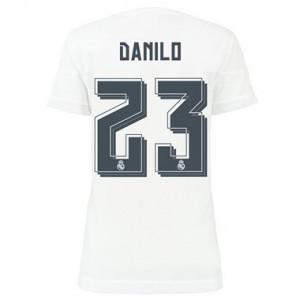 Mujer Camiseta del Danilo Real Madrid Primera Equipacion 2015/2016