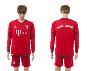 Camiseta nueva Bayern Munich Manga Larga Primera 15/16