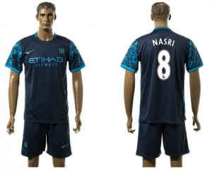 Camiseta del 8# Manchester City Away